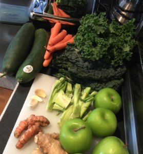 Organic Fruits and Vegetables for Cold Press Juicing